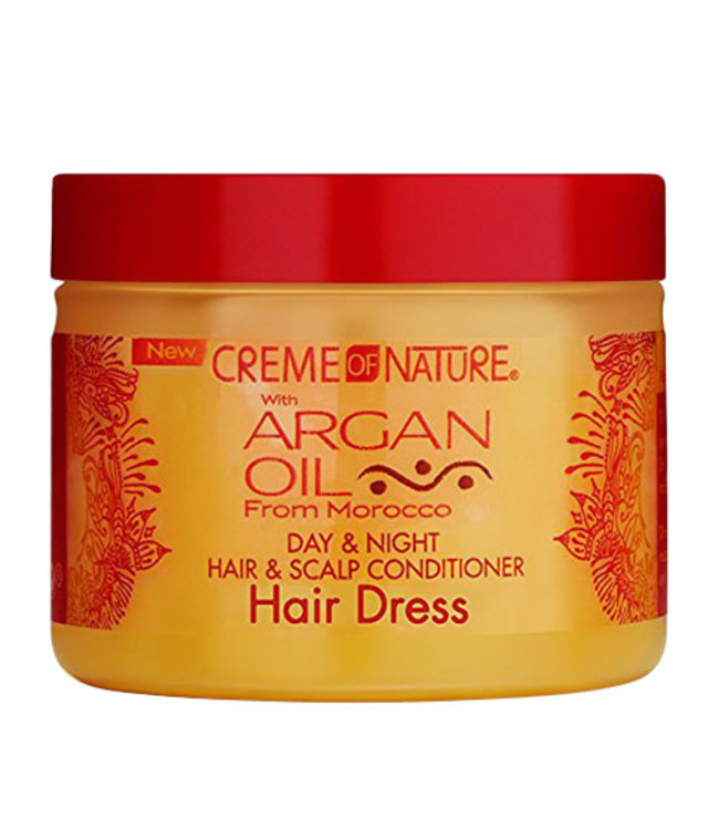 Creme Of Nature Argan Oil Day & Night Hair & Scalp Conditioner 4oz