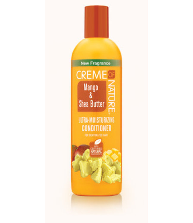 Creme Of Nature Mango & Shea Butter Ultra Moisturizing  Conditioner (12oz)