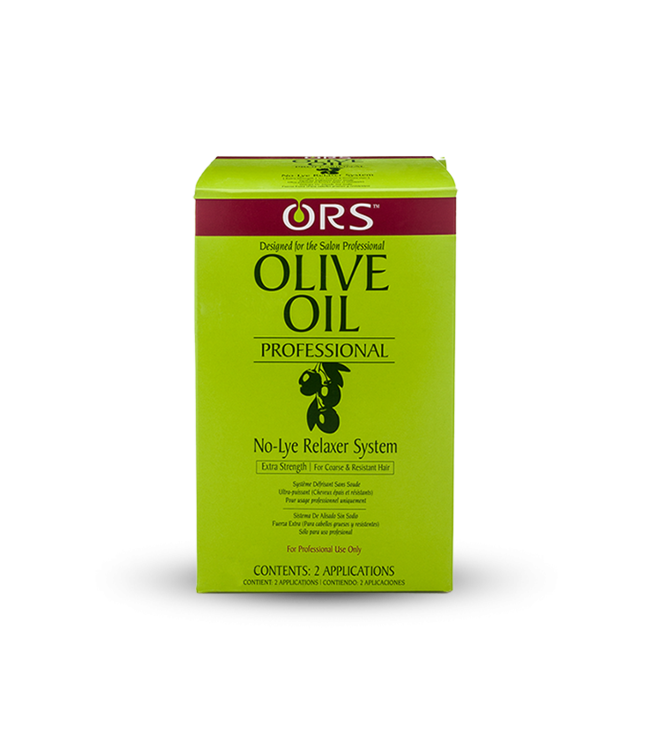 Organic Root ORS Olive Oil No-Lye Hair Relaxer System Twin Kit Extra Strength