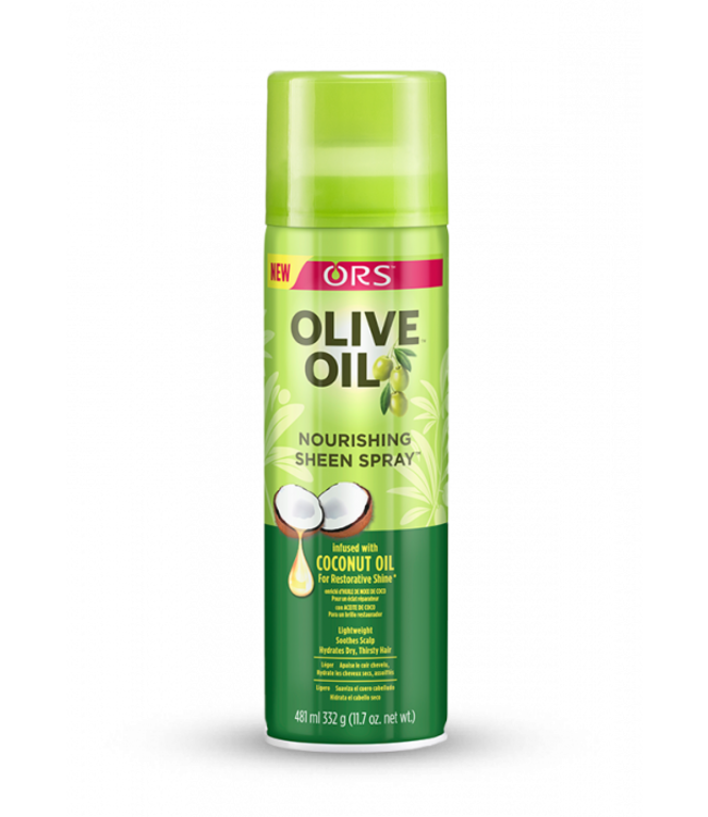 Organic Root Olive Oil Nourishing Sheen Spray Infused With Coconut Oil 11.7oz