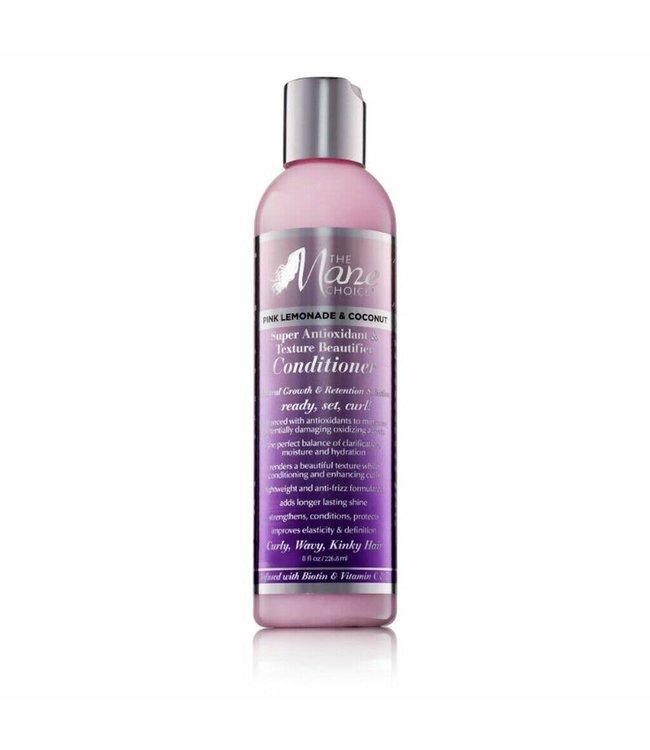 The Mane Choice Pink Lemonade & Coconut Super Antioxidant & Texture Beautifier  Conditioner (8oz)