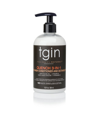 TGIN Quench 3-N-1 Co-Wash Conditioner & Detangler (13oz)