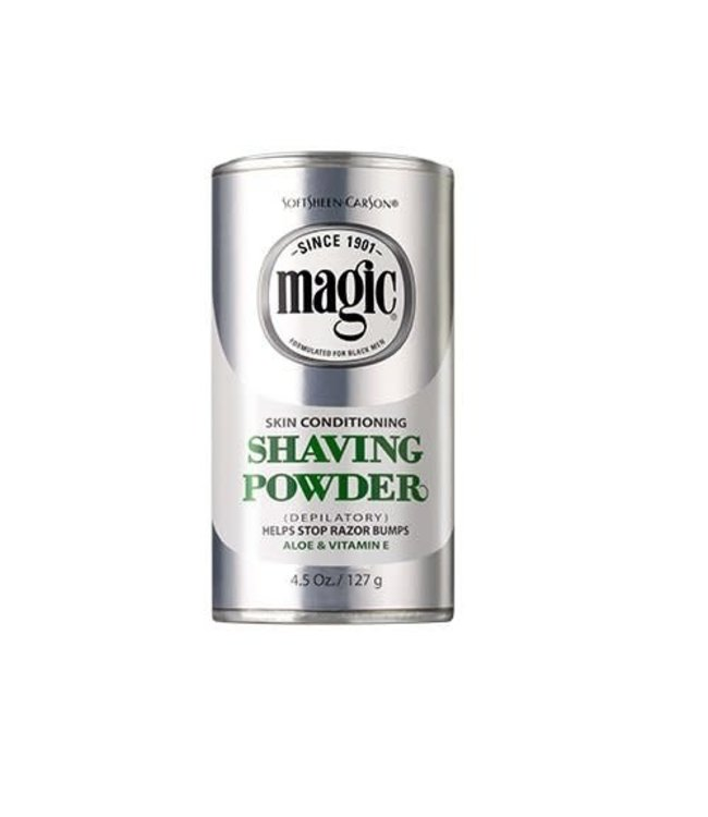 Magic Shave Skin Conditioning Shaving Powder Plat 4.5oz