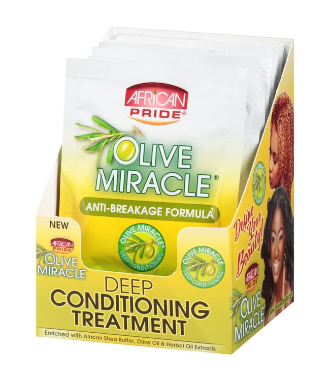 African Pride Olive Miracle Deep Conditioning Treatment 1.5oz