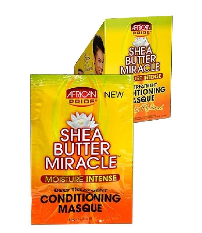African Pride Shea Butter Miracle Deep Conditioning Masque (1.5oz)