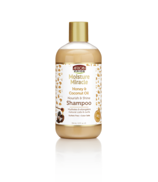 African Pride Moisture Miracle Honey & Coconut Oil Shampoo (12oz)