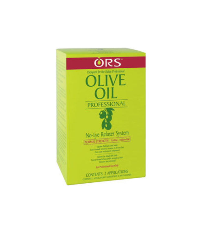 Organic Root ORS Olive Oil No-Lye Hair Relaxer System (2 applications) - Normal