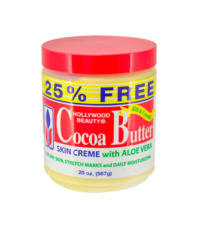 Hollywood Beauty Cocoa Butter Skin Creme With Aloe  Vera 15oz
