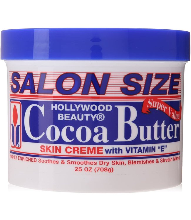 Hollywood Beauty Cocoa Butter Skin Creme with Vitamin E 25oz