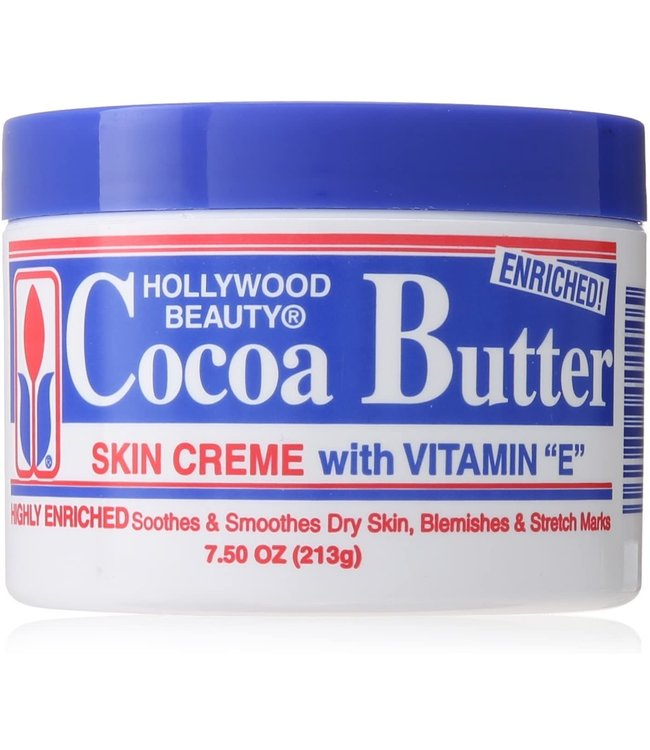 Hollywood Beauty Cocoa Butter Skin Creme with Vitamin E 7.5oz