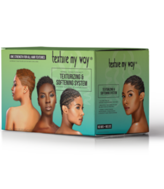 Africa's Best Texture My Way No-Lye-No-Mix Texturizing & Softening System