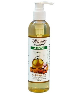 Serenity Oil Huile d'Amande Biologique - (8oz)