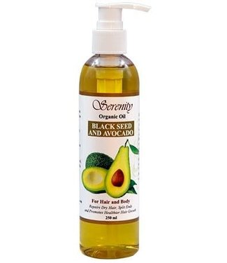 Serenity Oil Organic Oil Blackseed & Avocado 8oz