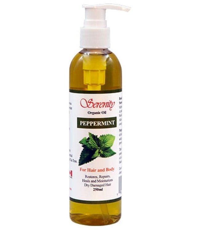Serenity Oil Organic Oil Peppermint 8oz