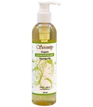 Serenity Oil Organic Lemongrass Massage Oil 8oz