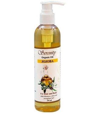 Serenity Oil Organic Oil Jojoba 8oz