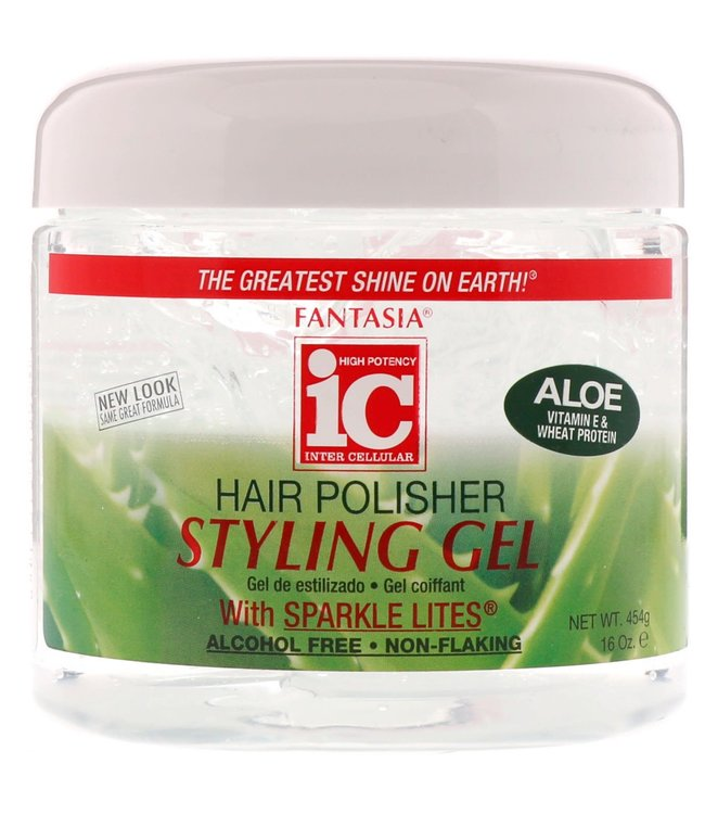 Fantasia IC Hair Polisher Styling Gel Aloe 16oz