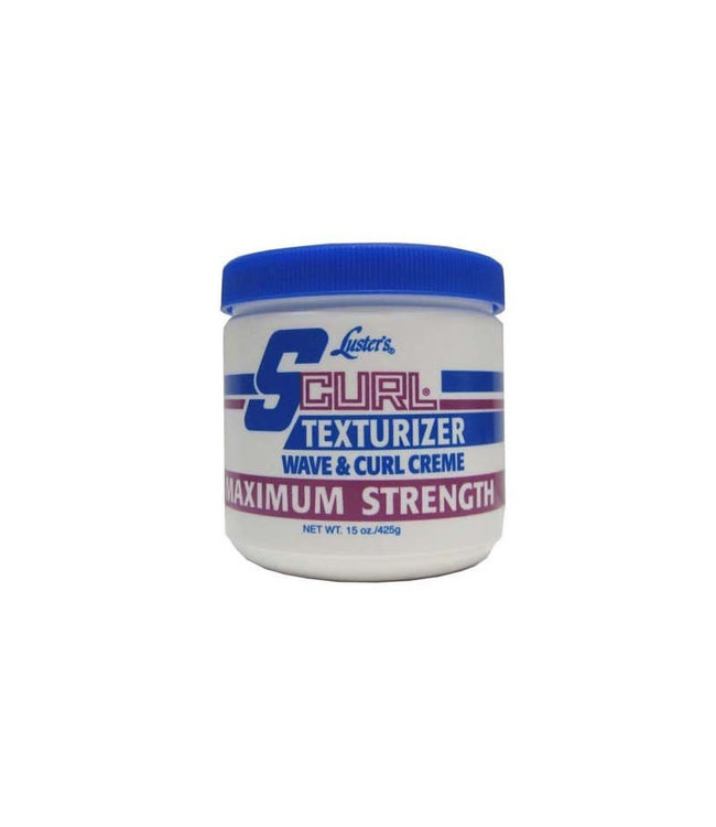 Luster's S-Curl Texturizer Wave & Curl  Creme Maximum Strength 15oz