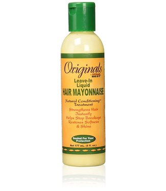 Africa's Best Organic Leave-In Liquid Hair Mayonnaise 6oz