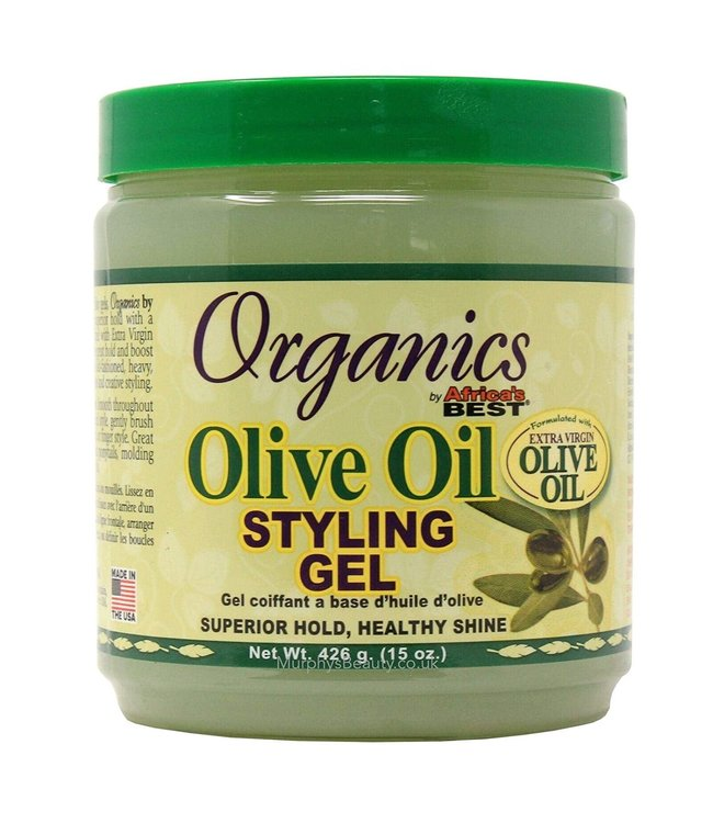 Africa's Best Organic Olive Oil Styling Gel 16oz