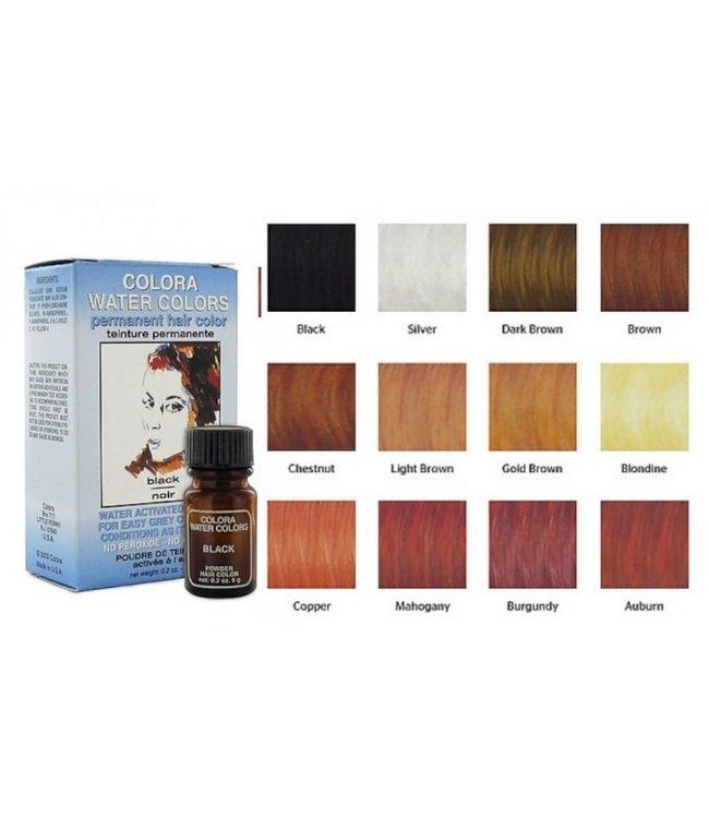 Colora Water Colors Permanent Hair Color Dark Brown 0.2oz