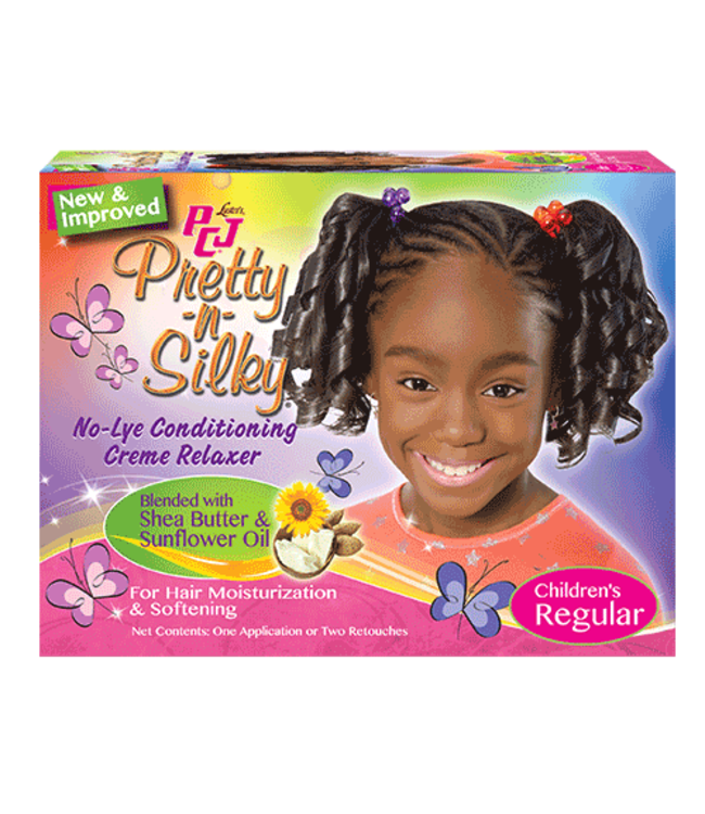 Luster's PCJ Pretty-N-Silky No-Lye Conditioning Creme Relaxer  Kit Regular