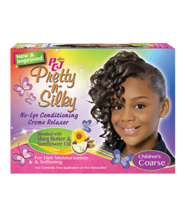 Luster's PCJ Pretty-N-Silky No-Lye Conditioning Creme Relaxer  Kit Coarse