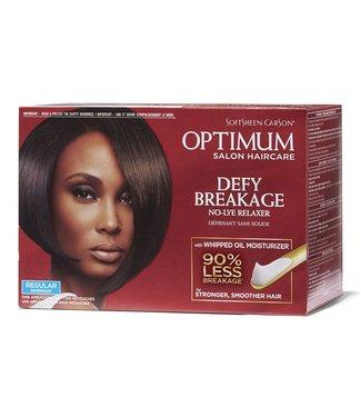 Optimum Salon Haircare Defy Breakage No-Lye Relaxer Kit Regular