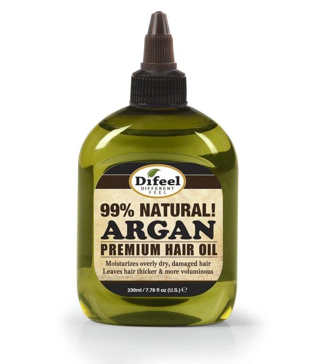 Difeel 99% Natural Argan Premium Hair Oil 7.78oz
