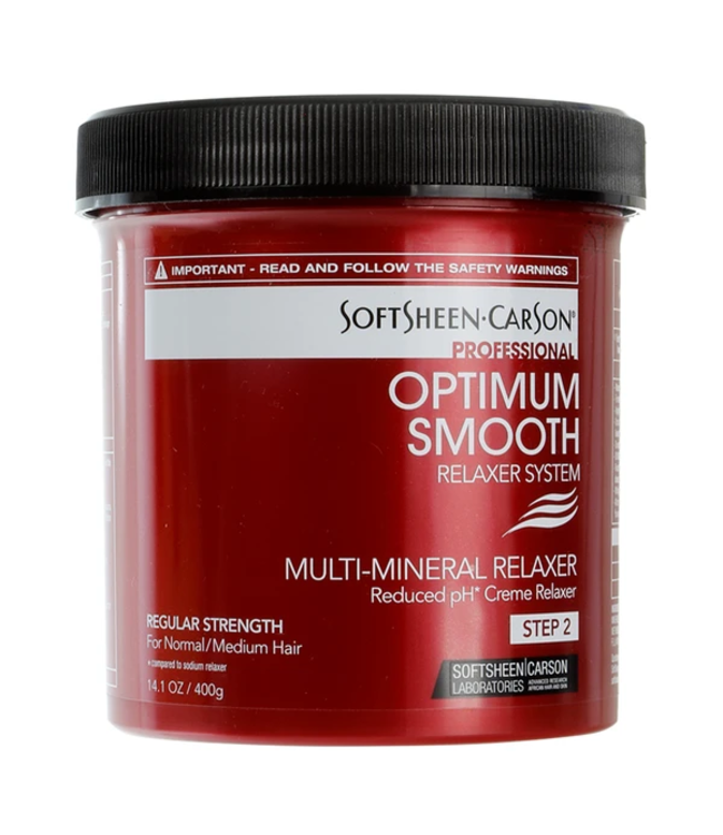Optimum Smooth Multi-Mineral Relaxer - Regular Strength (14.1oz)