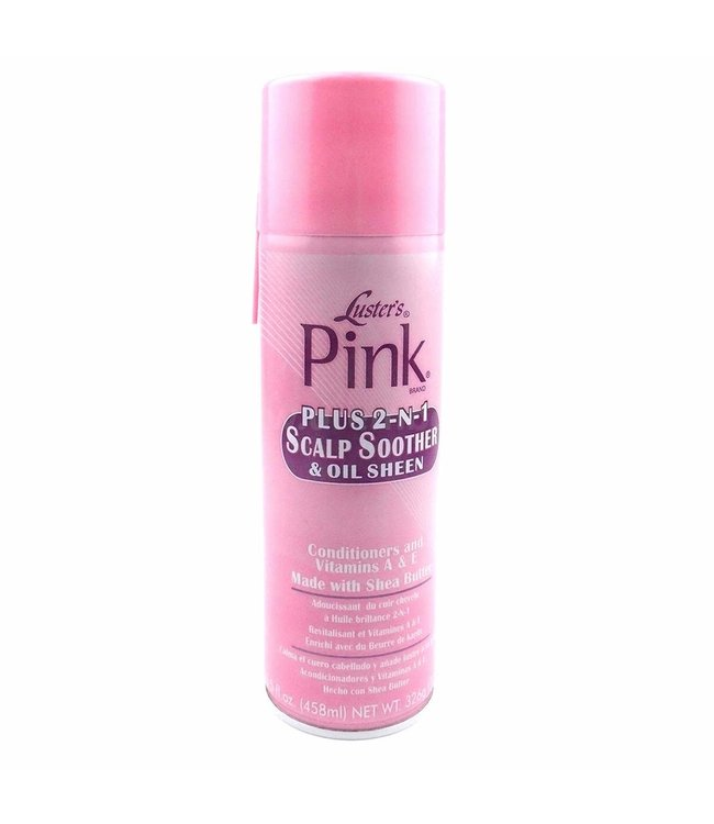 Luster's Pink Plus 2-N-1 Scalp Soother & Oil Sheen 14oz