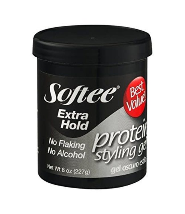 Softee Extra Hold Protein Styling Gel 15oz