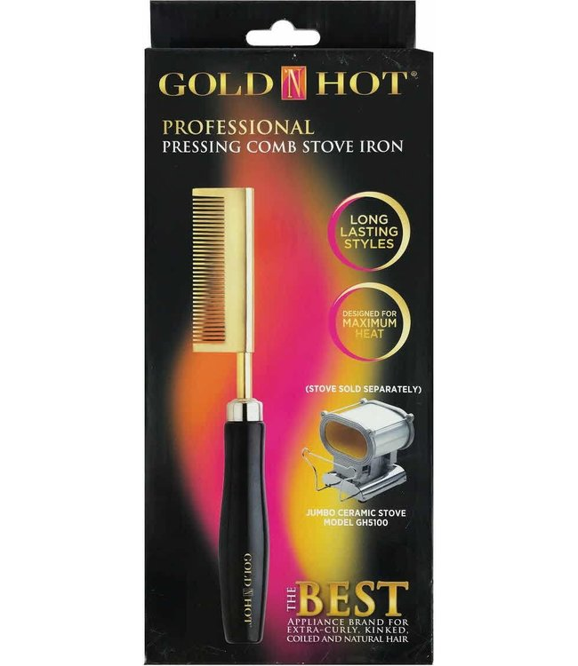 Gold'N Hot Pressing Comb Stove Iron 1220