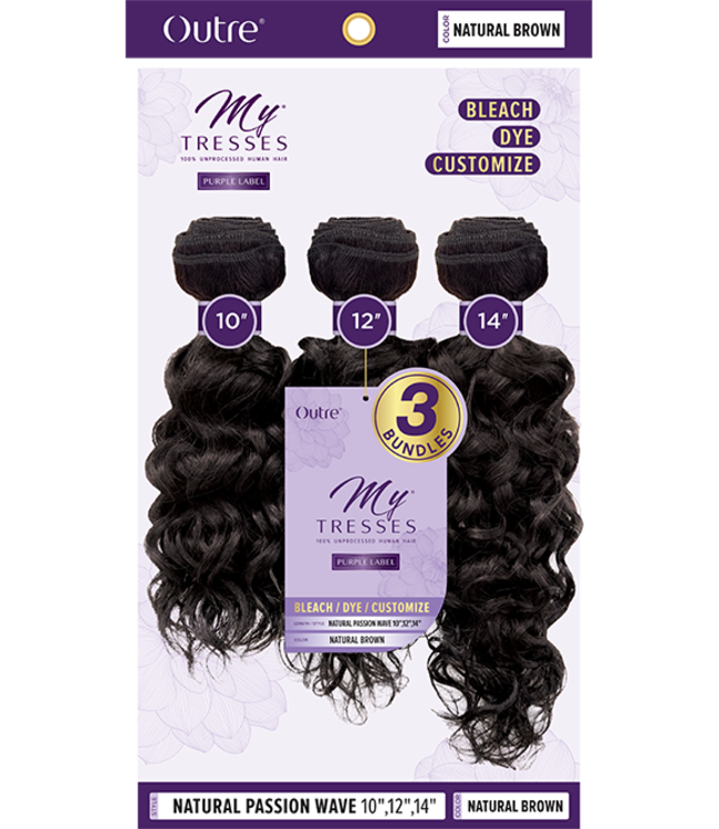 My Tresses Natural Passion Wave