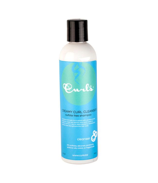 Curls Curls Creamy Cleanser Shampoo 8oz