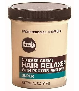 TCB No Base Creme Hair Relaxer Super 7.5oz