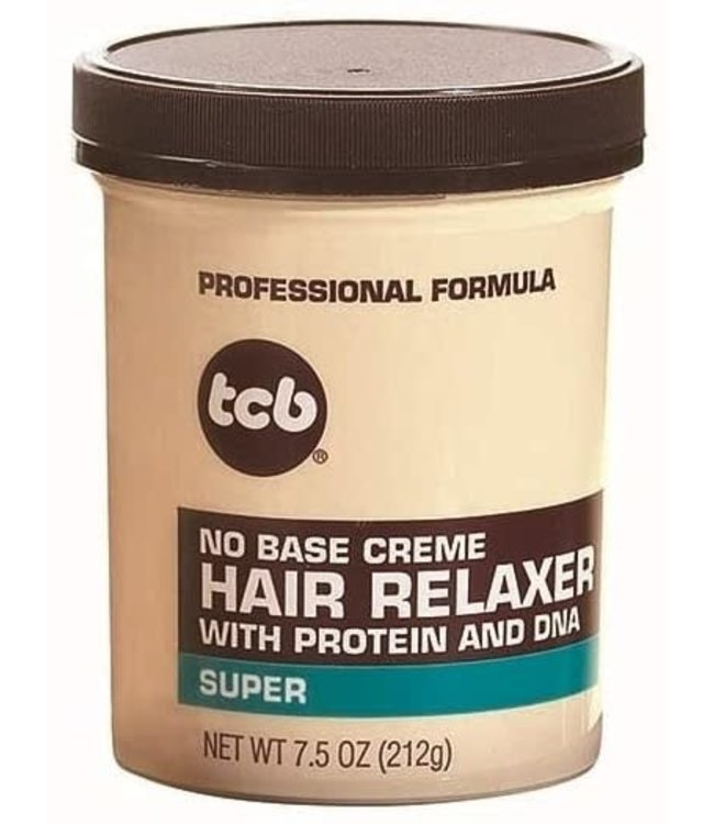 TCB No Base Creme Hair Relaxer Super 7.5oz