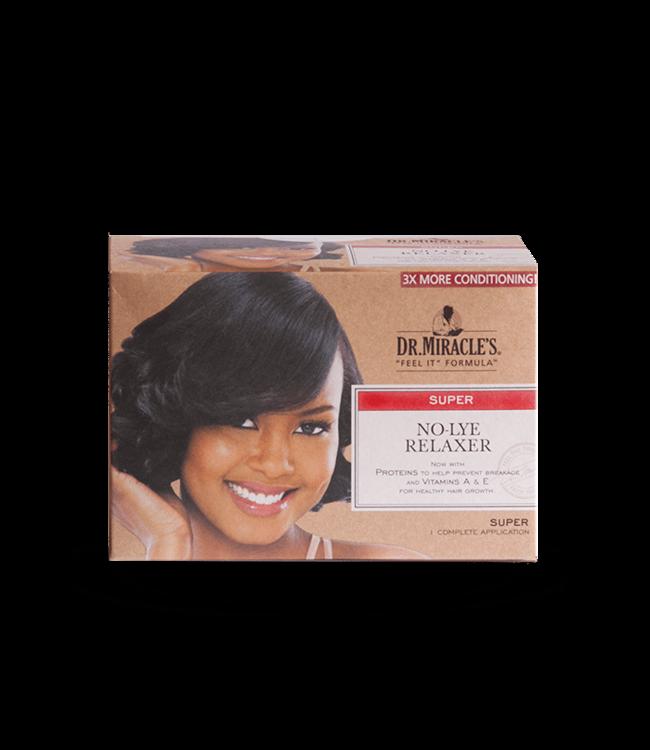 Dr Miracle No-Lye Relaxer Kit Super