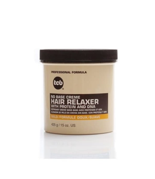 TCB No Base Creme Hair Relaxer Mild 15oz