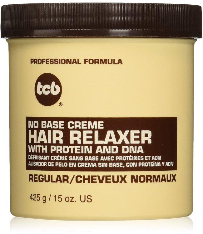 TCB No Base Creme Hair Relaxer Regular 15oz