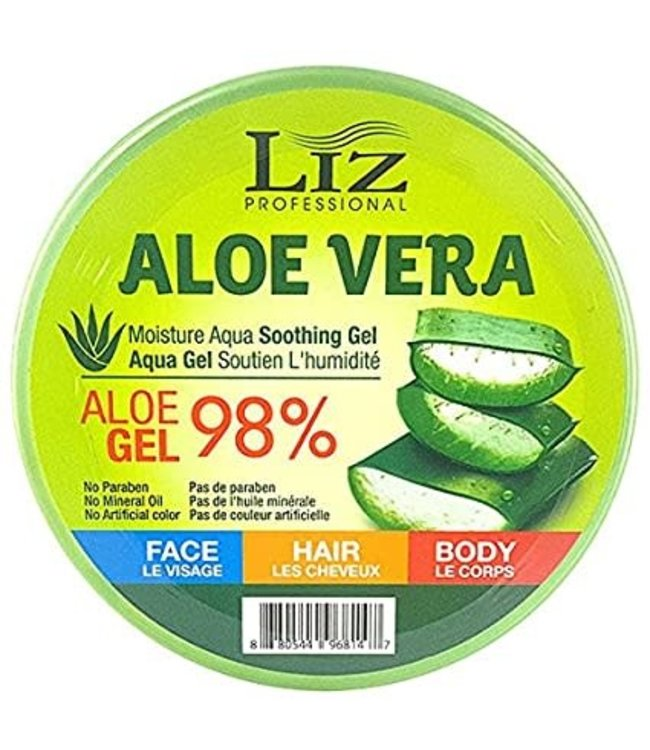 Liz Professional Aloe Vera Moisture Aqua Soothing  Gel 10oz