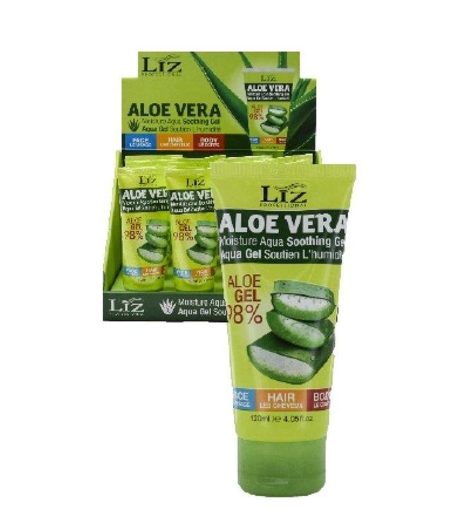 Liz Professional Aloe Vera Moisture Aqua Soothing Gel - 4.5 oz