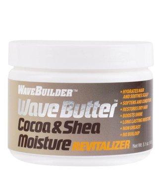Wave Builder Cocoa & Shea  Moisture Revitalizer 5.1oz