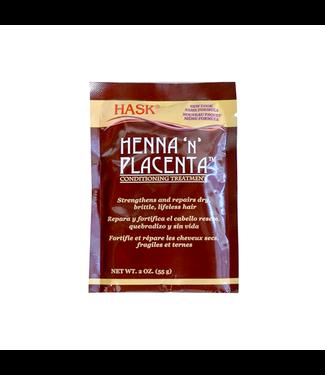 Hask Henna 'N' Placenta Conditioning Treatment Regular 2oz
