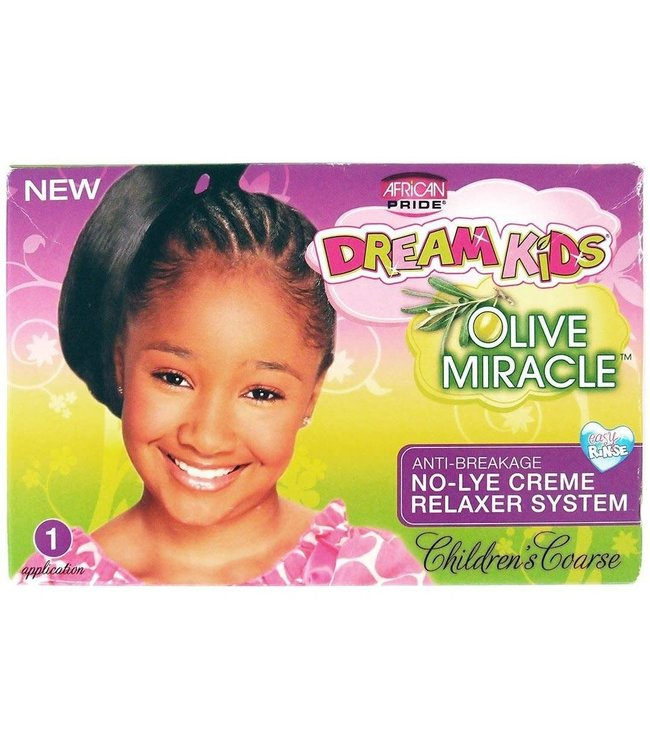 African Pride Dream Kids No-Lye Relaxer Kit Coarse
