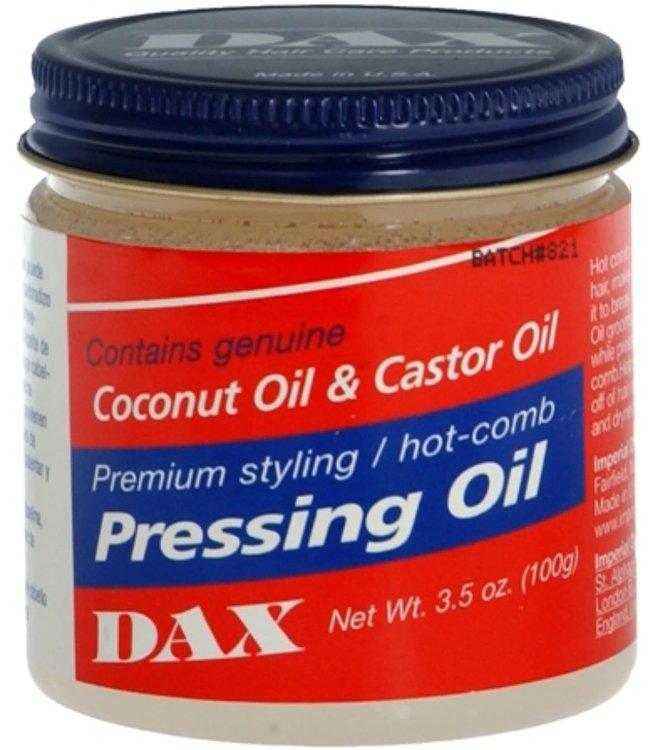Dax Coconut Oil & Castor Oil Pressing Oil 3.5oz