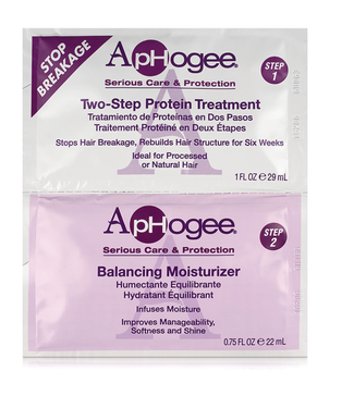 Aphogee Two Step Treatment&Balancing Moisturizer 1oz & 0.75oz