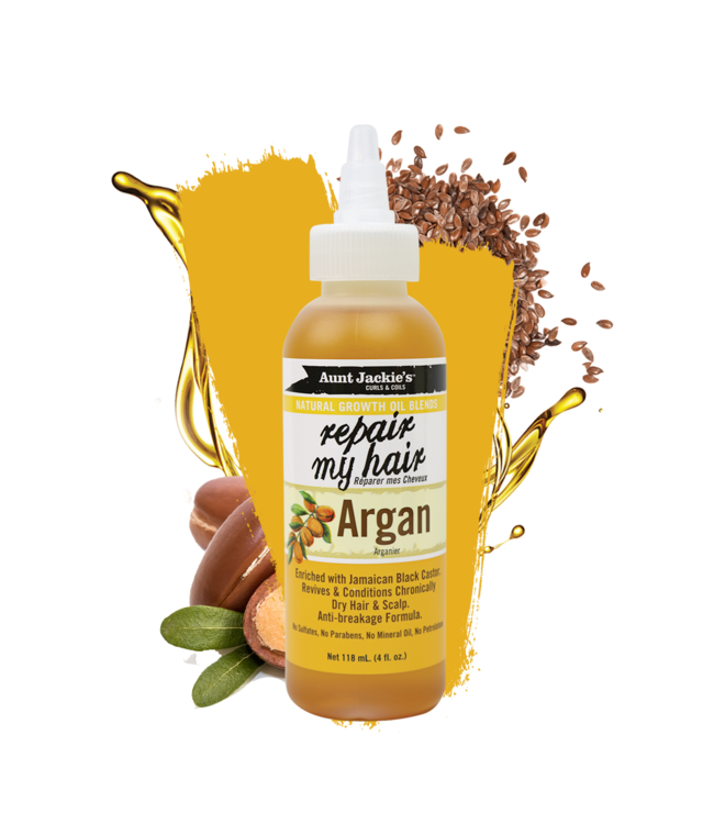 Aunt Jackie's Repair My Hair Argan Oil (4oz)