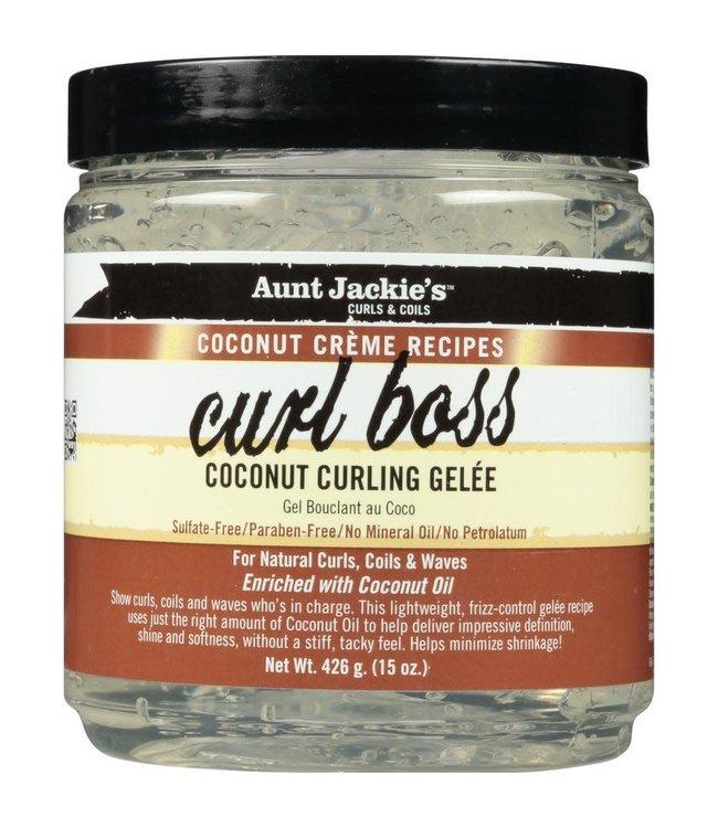 Aunt Jackie's Curl Boss Coconut Curling Gelee 15oz