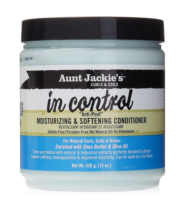 Aunt Jackie's  In Control Moisturizing & Softening  Conditioner 426g